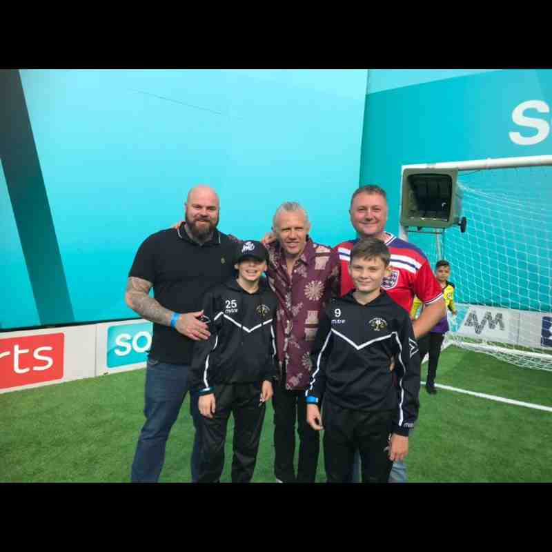 Under 13s Trip to Soccer AM