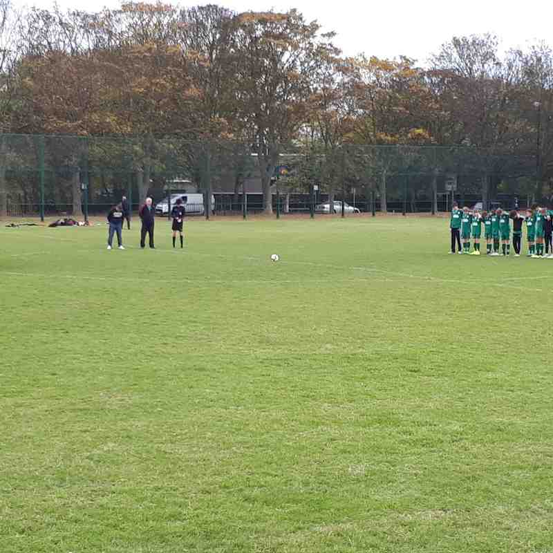 Under 13s tribute