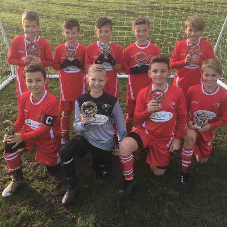 Autumn tournament success for Blair Under 10s