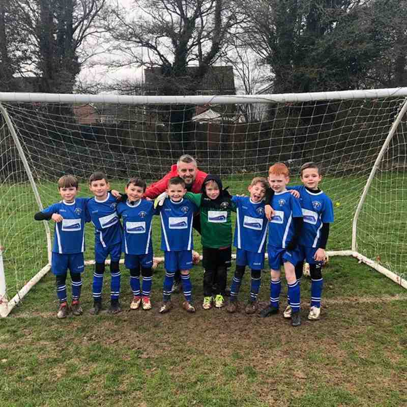 Under 7s Hawks vs Kingsdown Racers