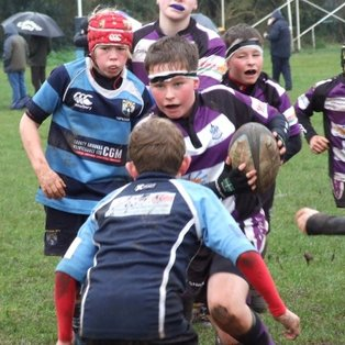 Exmouth U11's secure victory at Topsham