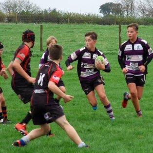 Exmouth U14s 14 - 24 Tavistock