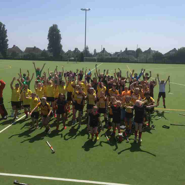 BHHC's first junior mixed festival a success