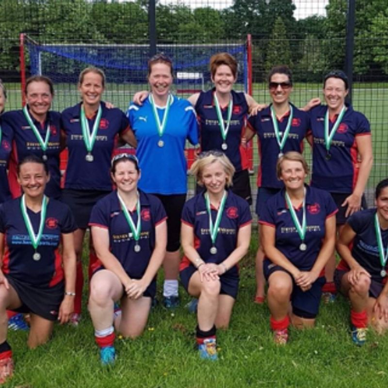 Women's over-35s take silver in South Masters clubs tournament