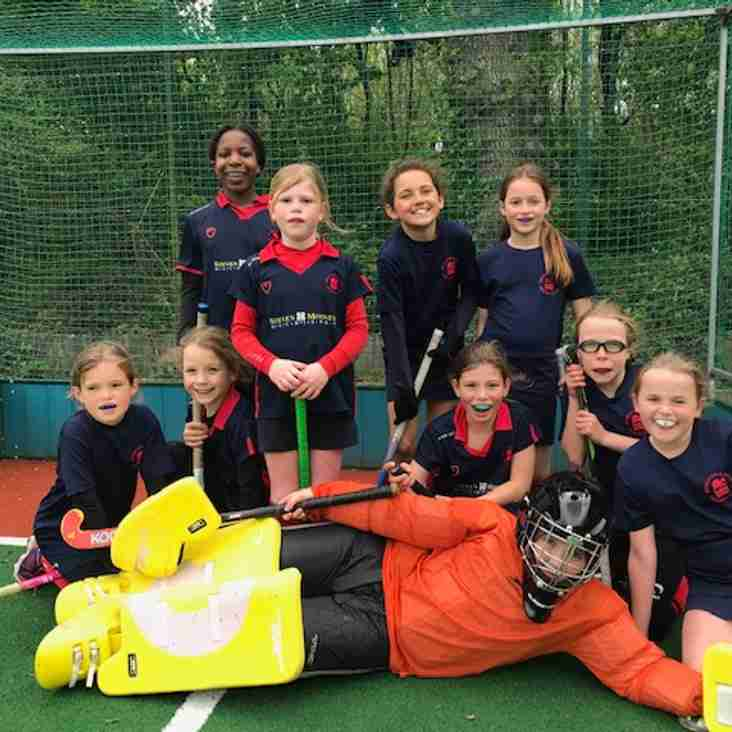 Sophie shines as under-10 girls represent Sussex at regionals