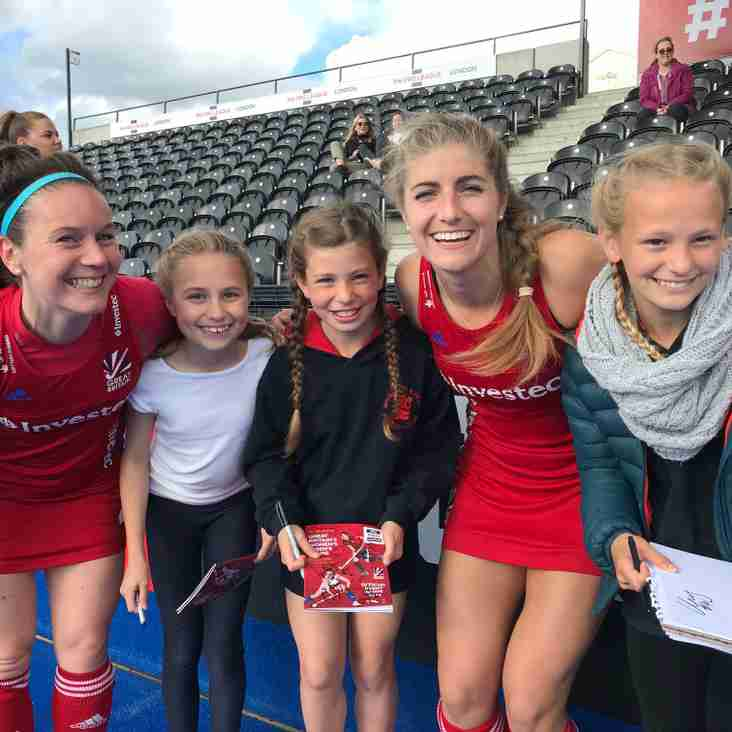 """Incredibly exciting and inspiring"" - BHHC juniors chosen as mascots for international match"