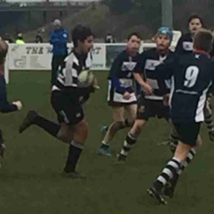 Thurrock u13s versus Chelmsford