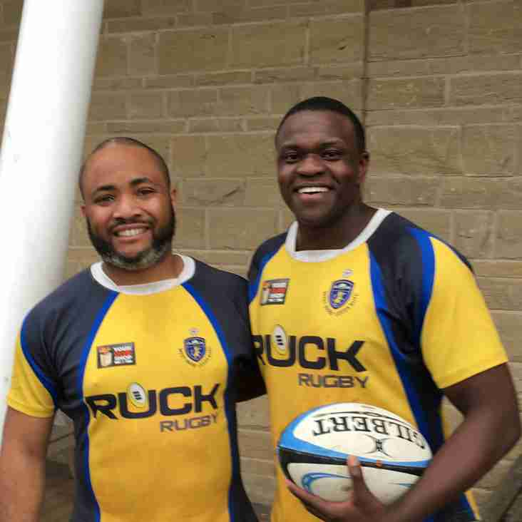 Tayo & Kevin Try Rugby for the First Time at West Park Leeds RUFC