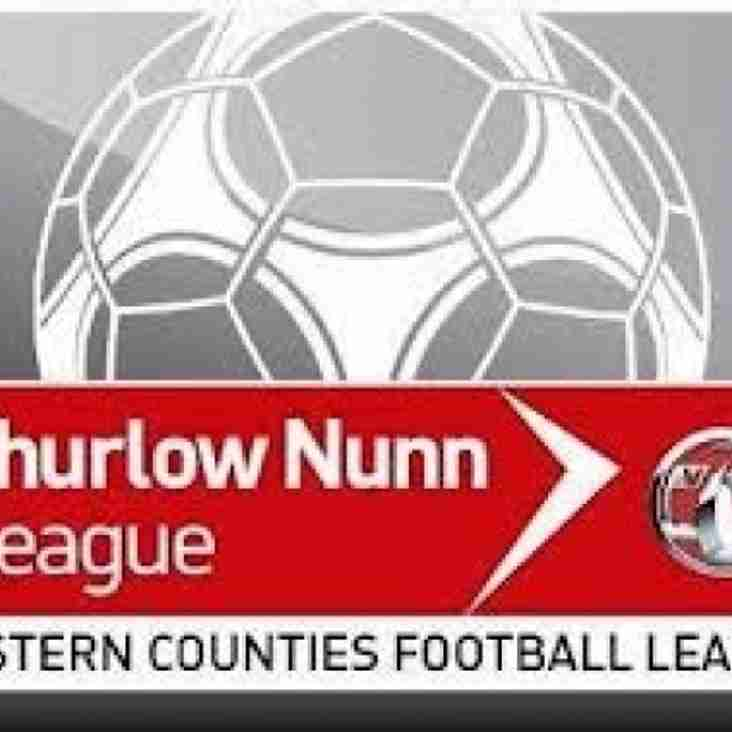 Thurlow Nunn League - Early season fixtures