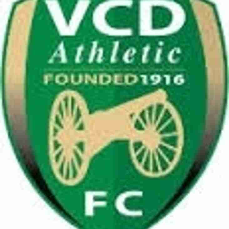 VCD Athletic v Blues - FA Trophy Match Preview