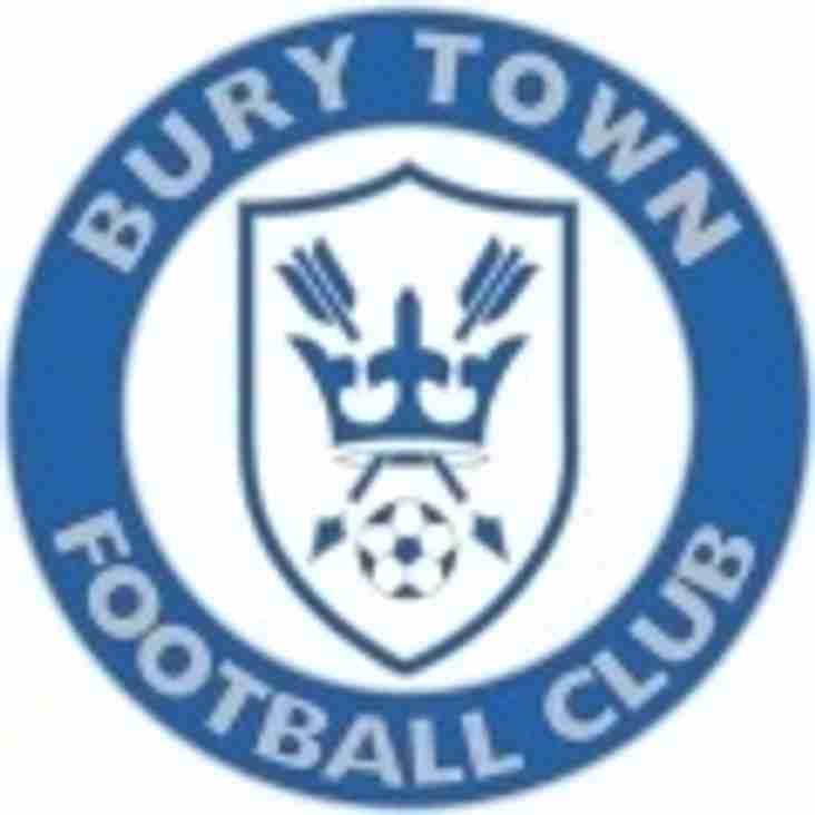 Blues v Bury Town - Cup Final Match Preview