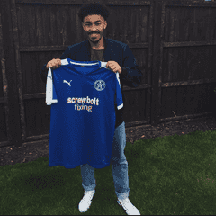 Ollie becomes a Blue!