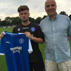 Exciting young forward arrives at Victory Road