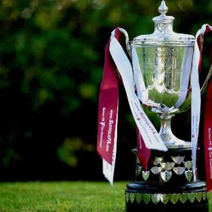 Blues drawn against Ipswich Town in County Cup