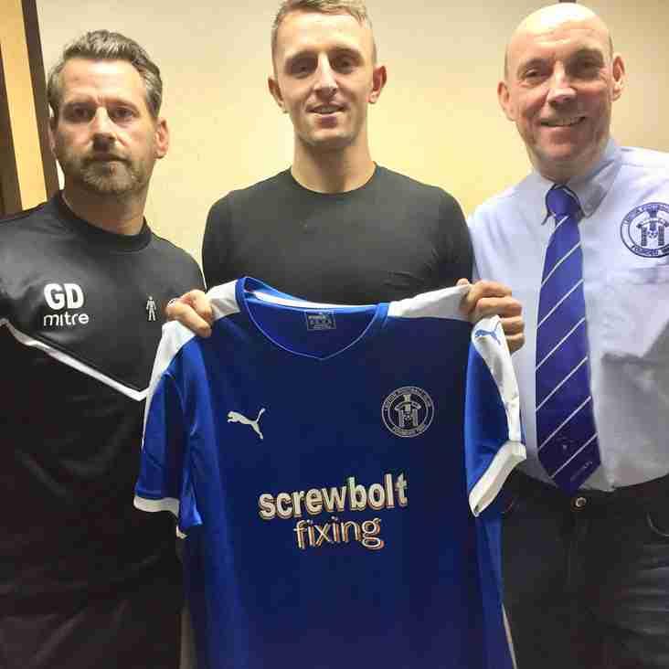New striker arrives at Victory Road