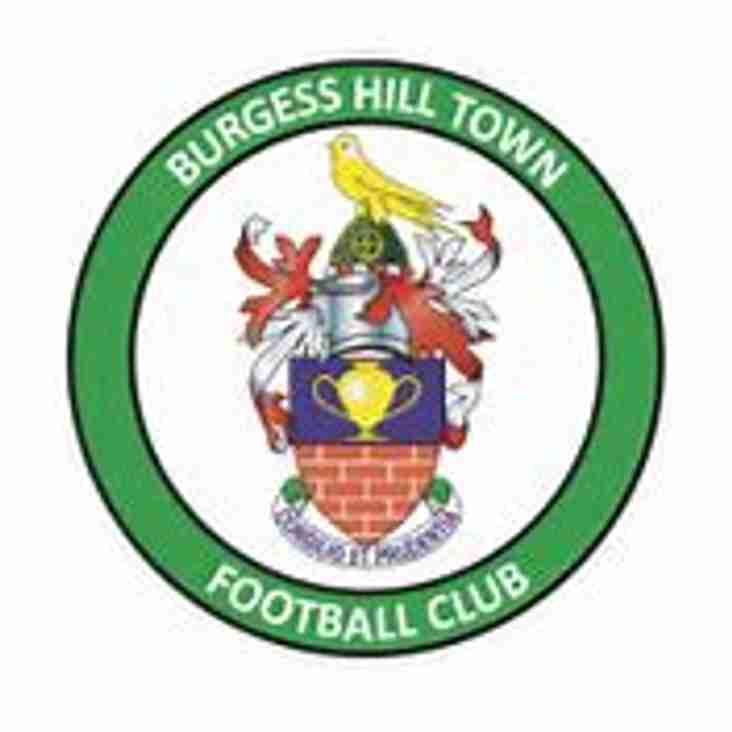 Blues v Burgess Hill Town - Match Preview