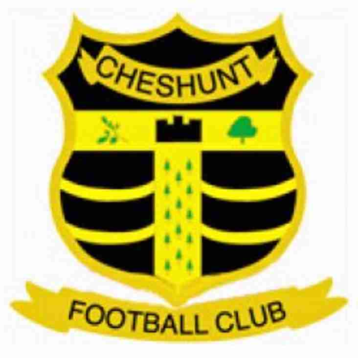 Match preview - Cheshunt