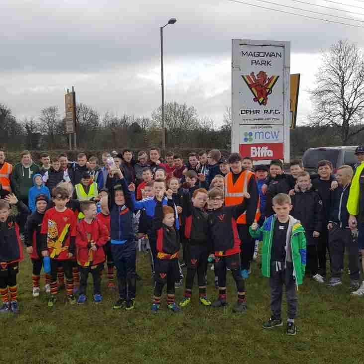 Ophir Mini and Youth Sponsored Walk
