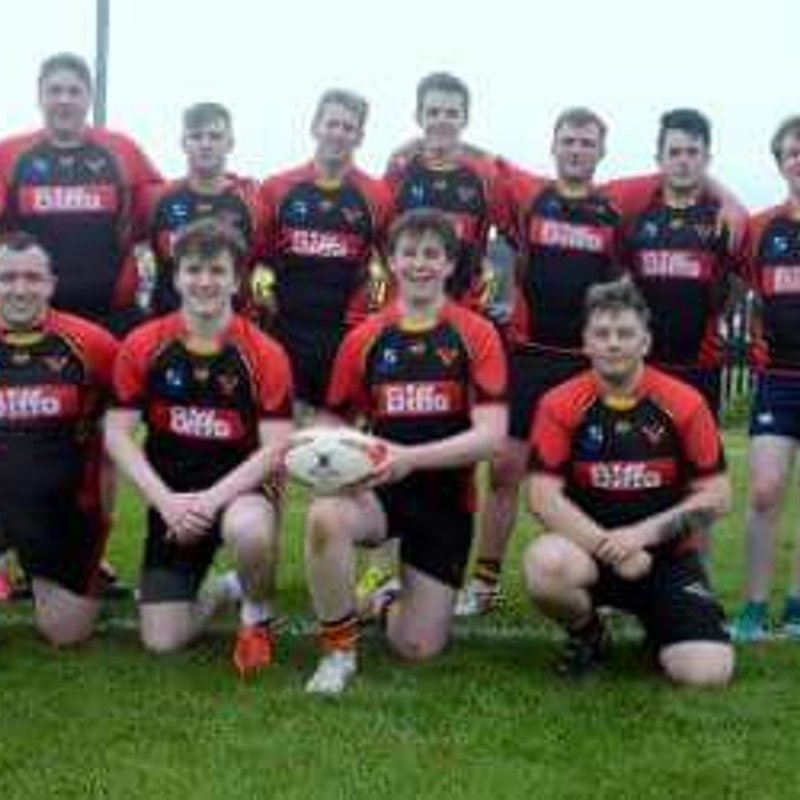 Ophir U18's make the Bowl Final at the Carrick Sevens