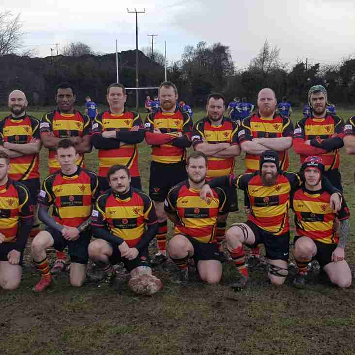 Ophir RFC unveil the new 1st XV Kits with a great win over Lisburn