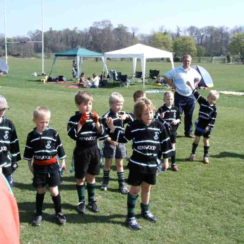 Under 12s - The way they were!!! - Herts Festival 2008