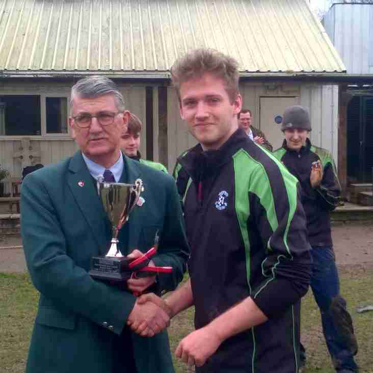 Colts Presented with League Trophy