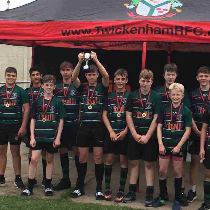Under 14s win Twickenham 10s