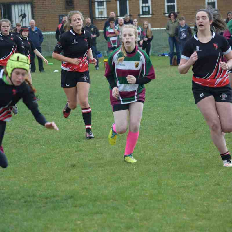 U15 Girls - Charity Match v Old Brods 13 May 2017