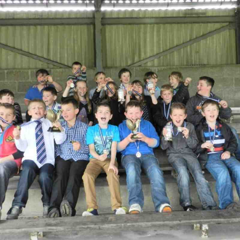 WSM Under 9's end season awards