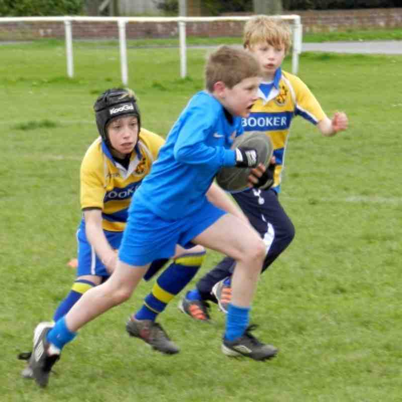 WSM v Clevedon U10 April