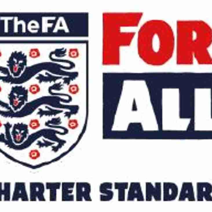 Hunsworth FC is a Charter Standard Club