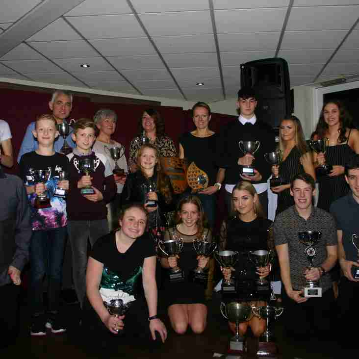 Waring scoops top award after outstanding season with Spen AC