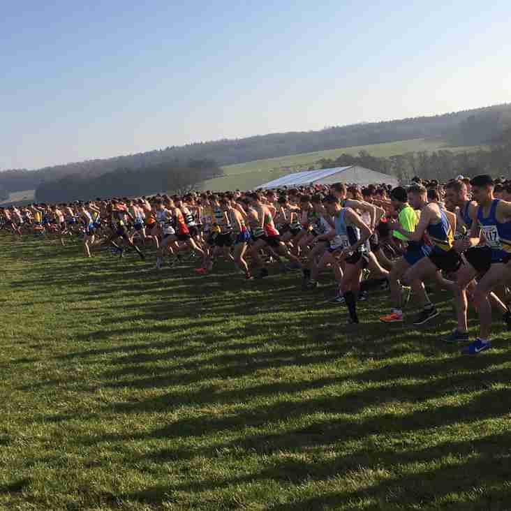 Results from National Cross Country Championships