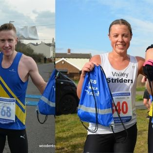 Joe Wins Liversedge Half Marathon