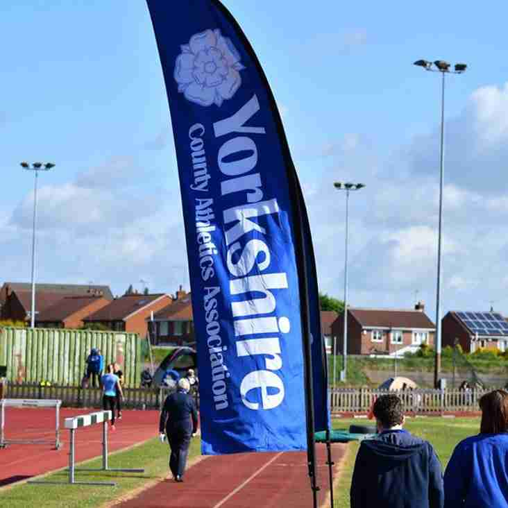 Five Golds for Spen AC Athletes at Yorkshire Championships