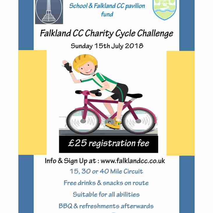 Falkland CC Charity Cycle Challenge 2018