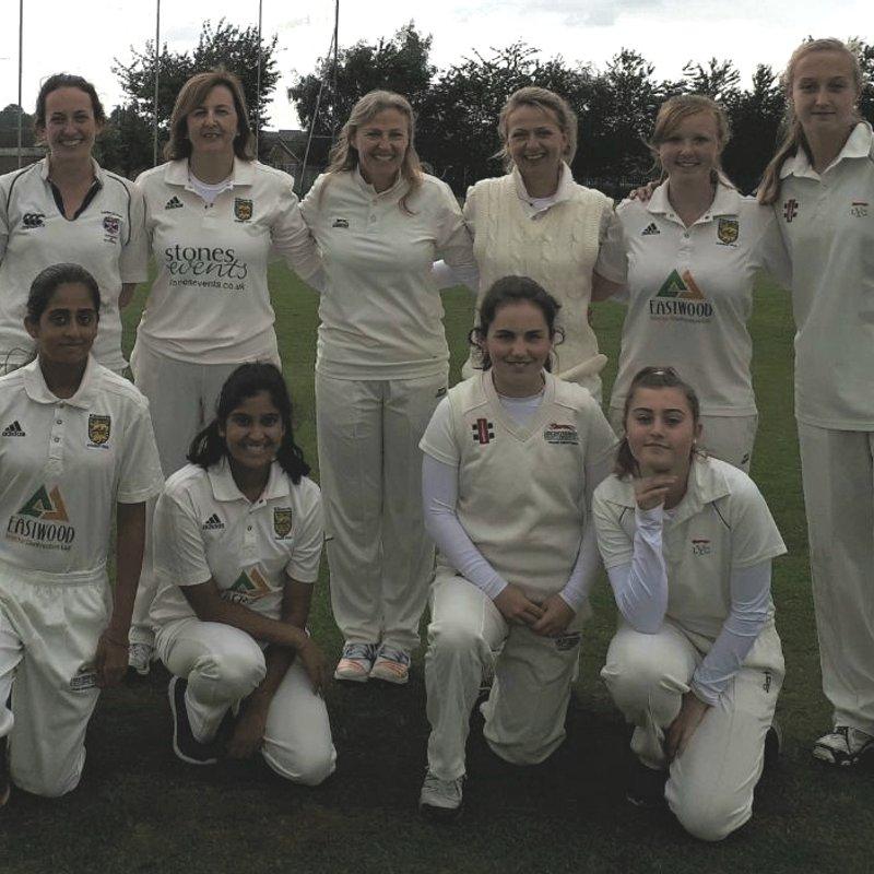Ockbrook & Borrowash CC - Womens 1st XI 94/8 - 95/5 Kibworth CC - Womens 1st XI