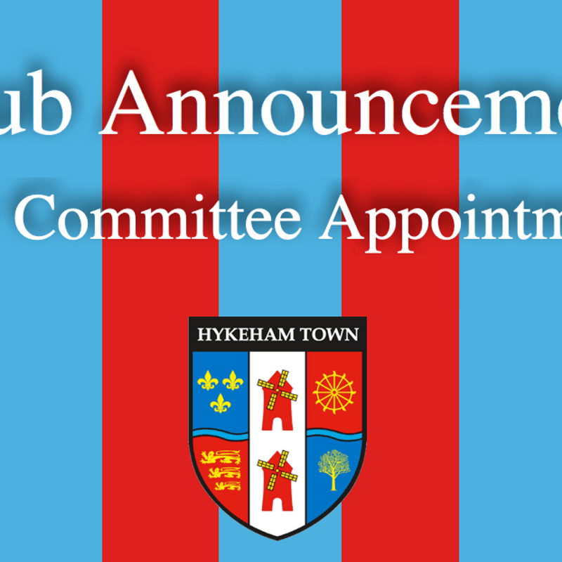 NEW COMMITTEE APPOINTMENTS