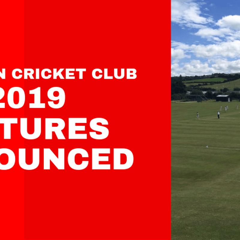 NCC Fixtures Announced