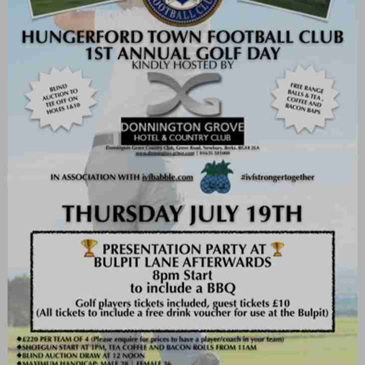 HTFC GOLF DAY.