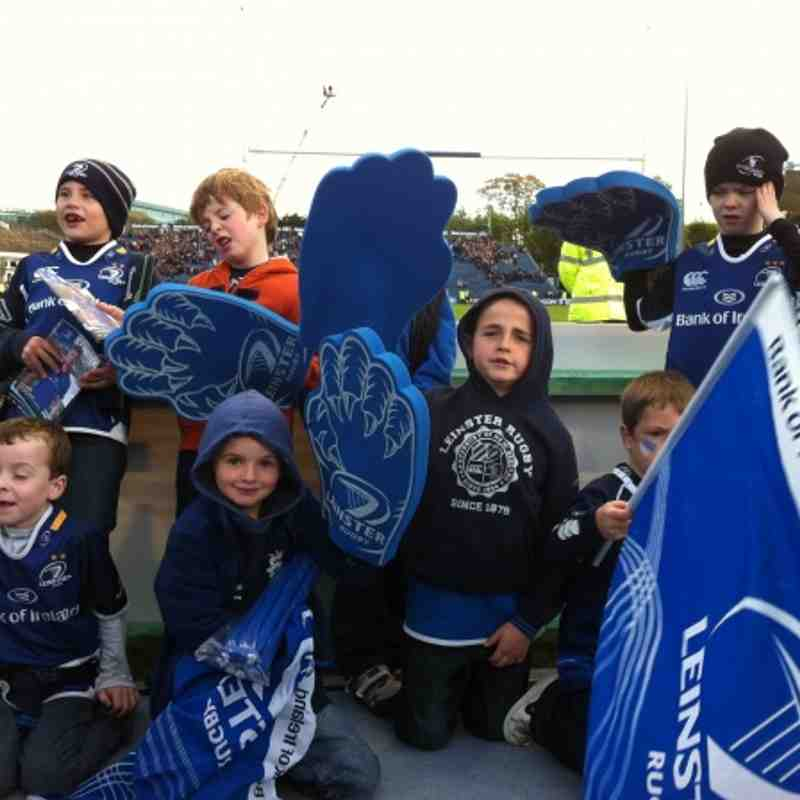 HEC: Leinster vs Exeter Chiefs Oct 2012
