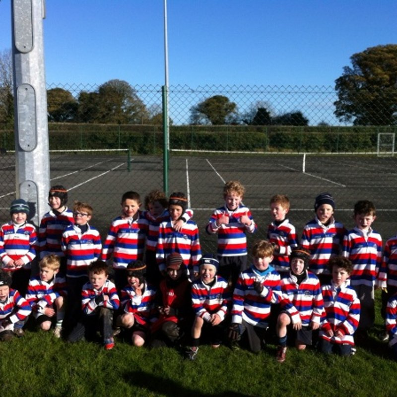 North Kildare U8s are taking to tackling like ducks to water.