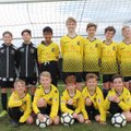 Under 12 Diamonds beat Guildford City Dynamo's 0 - 5