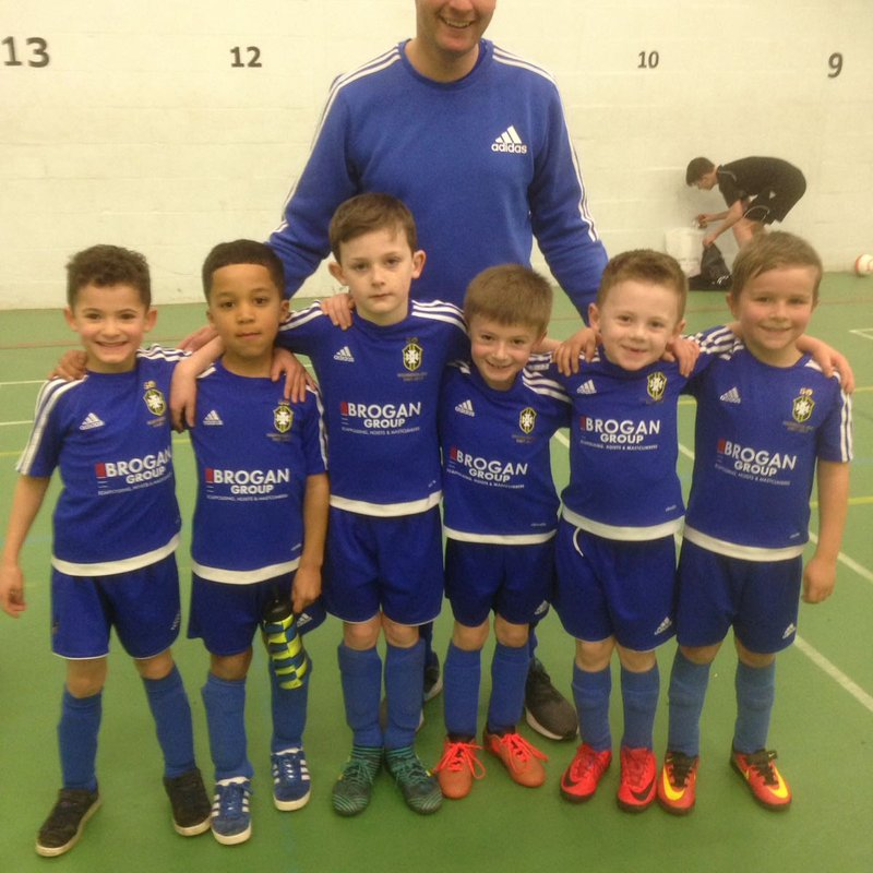 Highmoor Athletic U7's vs. Tekkers Red - White