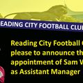 Sam Woodruff Appointed as Assistant Manager