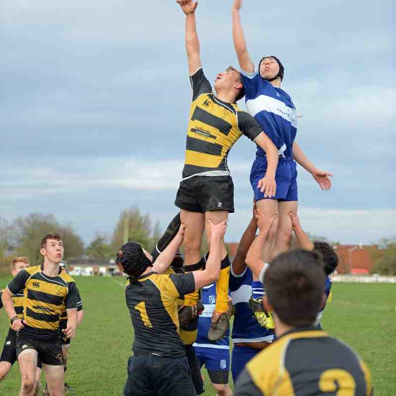 BSRFC U17B v Letchworth Colts 151115