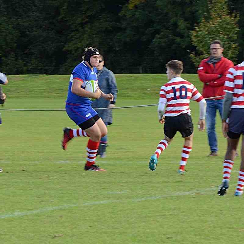 BSRFC Colts v Finchley