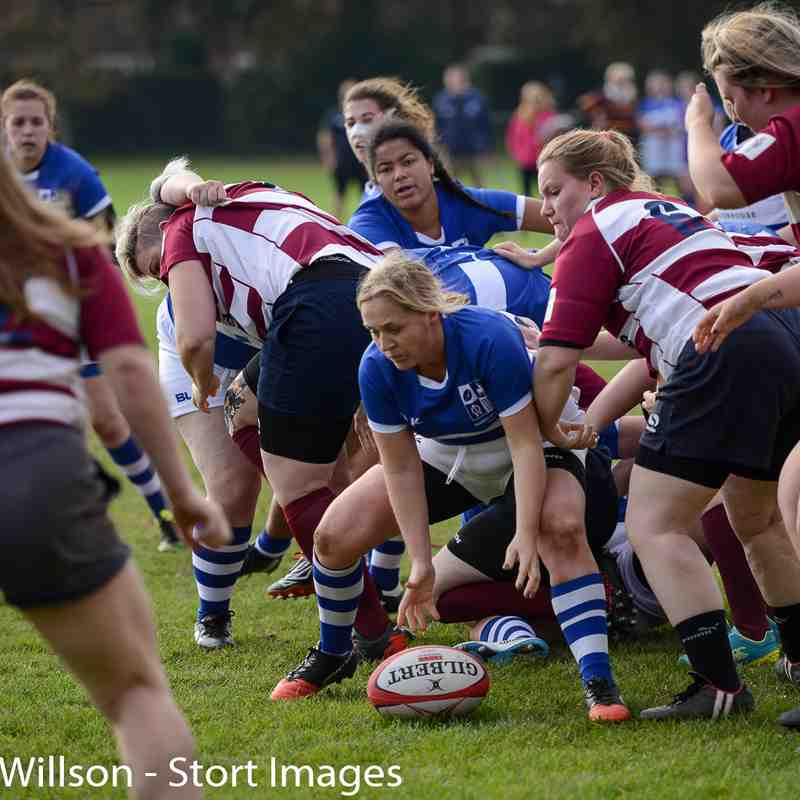 BSRFC Ladies (26) v Welwyn Ladies (22)