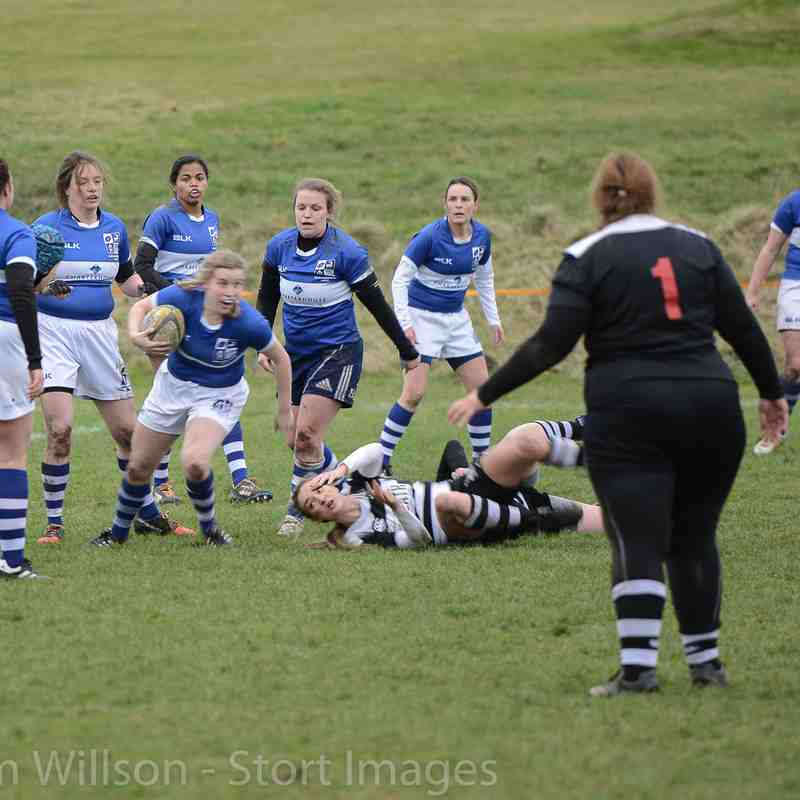 BSRFC Ladies (0) v Royston (29) Away