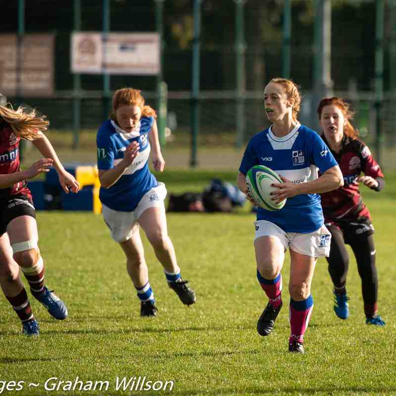 BSRFC L:adies (10) v Hitchin Ladies (49) - Away